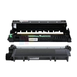 Brother TN-660 Black Toner Cartridge/ Brother DR-630 Compatible Drum Unit 2 Pack Combo