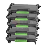Brother TN-850 New Compatible Black Toner Cartridges 5 Pack Combo High Yield