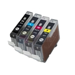 Canon CLI-8 New Compatible 4 Color Ink Cartridges Combo