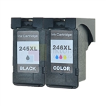 Canon PG-245XL CL-246XL (8278B001, 8280B001) New Compatible Color Ink Cartridge