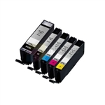 Canon PGI-270XL/ Canon CLI-271XLBK/C/M/Y New Compatible 5 Color Ink Cartridges Combo High Yield