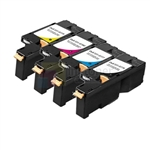 Dell 331-0777/78/79/80 New Compatible 4 Color Toner Cartridges Combo High Yield