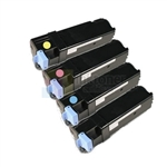 Dell 310-9058/60/62/64 New Compatible 4 Color Toner Cartridges High Yield