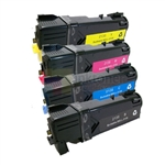 Dell 330-1433/36/37/38 New Compatible 4 Color Toner Cartridges Combo High Yield