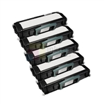 Dell 2230 330-4131 (P579K) New Compatible Black Toner Cartridges 5 Pack Combo