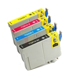 Epson 124 New Compatible 4 Color Ink Cartridges Combo