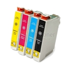 Epson 200 New Compatible 4 Color Ink Cartridges Combo