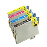 Epson 44 New Compatible 4 Color Ink Cartridges Combo