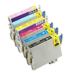 Epson 48 New Compatible 6 Color Ink Cartridges Combo