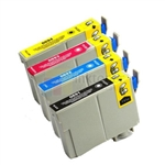 Epson 69 New Compatible 4 Color Ink Cartridges Combo