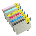 Epson 78 New Compatible 6 Color Ink Cartridges Combo