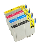 Epson 88 New Compatible 4 Color Ink Cartridges Combo