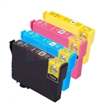 Epson 220XL (T220XL120/220/320/420) New Compatible 4 Color Ink Cartridges Combo High Yield