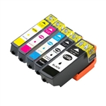 Epson 410XL (T410XL020-T410XL420) New Compatible 5 Color Ink Cartridges Combo High Yield