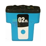HP 02XL (C8730WN) New Compatible Cyan Ink Cartridge High Yield