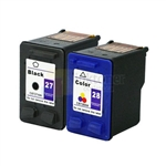 HP 27 28 C8727AN C8728AN Ink Cartridge