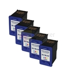HP 28 (C8728AN) New Compatible Tri-Color Ink Cartridges 5 Pack Combo