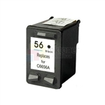 HP 56 (C6656AN) New Compatible Black Ink Cartridge