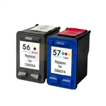 HP 56 57 C6656AN C6657AN Ink Cartridge