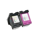 HP 63XL (F6U63AN-F6U64AN) New Compatible Black & Tri-Color Ink Cartridges Combo High Yield