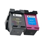 HP 65XL (N9K04AN, N9K03AN ) New Compatible Ink Cartridge