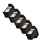 HP 74XL (CB336WC) New Compatible Black Ink Cartridges 5 Pack Combo High Yield
