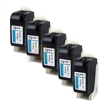HP 78 (C6587DN) New Compatible Color Ink Cartridges 5 Pack Combo