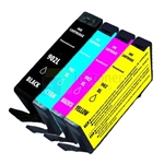 HP 902 902XL (T6L98AN T6M02AN T6M06AN T6M10AN) New Compatible 4 Color Ink Cartridges Combo High Yield