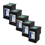 HP 94 (C8765WN) New Compatible Black Ink Cartridges 5 Pack Combo