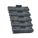 HP C4092A (HP 92A) New Compatible Black Toner Cartridges 5 Pack Combo