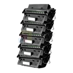 HP C4096A (HP 96A) New Compatible Black Toner Cartridges 5 Pack Combo