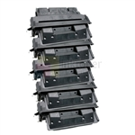 HP C4127X (HP 27X) New Compatible Black Toner Cartridges 5 Pack Combo High Yield