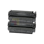 HP C7115A (HP 15A) New Compatible Black Toner Cartridges 2 Pack Combo