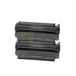 HP C7115X (HP 15X) New Compatible Black Toner Cartridges 2 Pack Combo High Yield