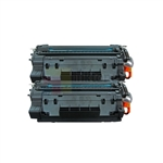 HP CE255A 2PK 55A Toner Cartridge