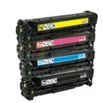 HP CE410X-CE413A (HP 305X / 305A) New Compatible 4 Color Toner Cartridges Combo High Yield