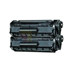 HP CF279A (HP 79A) New Compatible Black Toner Cartridges 2 Pack Combo