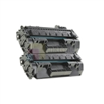 HP CF280X (HP 80X) New Compatible Black Toner Cartridges 2 Pack Combo High Yield