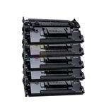 HP CF287A 5PK 87A Toner Cartridge