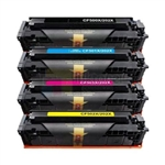 HP CF500A-CF503A 202A  New Compatible Toner Cartridges