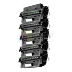 HP Q2610A (HP 10A) New Compatible Black Toner Cartridges 5 Pack Combo