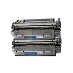 HP Q2613X (HP 13X) New Compatible Black Toner Cartridges 2 Pack Combo High Yield