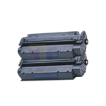 HP Q2624X (HP 24X) New Compatible Black Toner Cartridges 2 Pack Combo High Yield