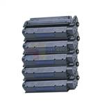 HP Q2624X (HP 24X) New Compatible Black Toner Cartridges 5 Pack Combo High Yield