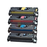 HP Q3960A-Q3963A (HP 122A) New Compatible 4 Color Toner Cartridges Combo