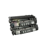 HP Q5949A (HP 49A) New Compatible Black Toner Cartridges 2 Pack Combo
