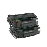 HP Q5949X (HP 49X) New Compatible Black Toner Cartridges 2 Pack Combo High Yield