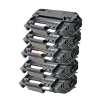 HP Q6511X (HP 11X) New Compatible Black Toner Cartridges 5 Pack Combo High Yield