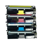 Konica Minolta 2400w 2450 2500 2550 1710587-004/005/006/007 New Compatible 4 Color Toner Cartridges Combo