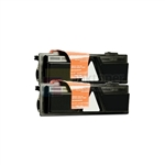 Kyocera Mita TK-132 New Compatible Black Toner Cartridges 2 Pack Combo